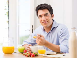 Wichtig: Achten auf gesunde Ernährung