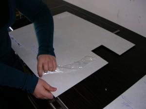 Montage von IKEA-Wandpaneelen in der Küche