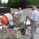 Beton selber mischen – Anleitung zum Betonmischen