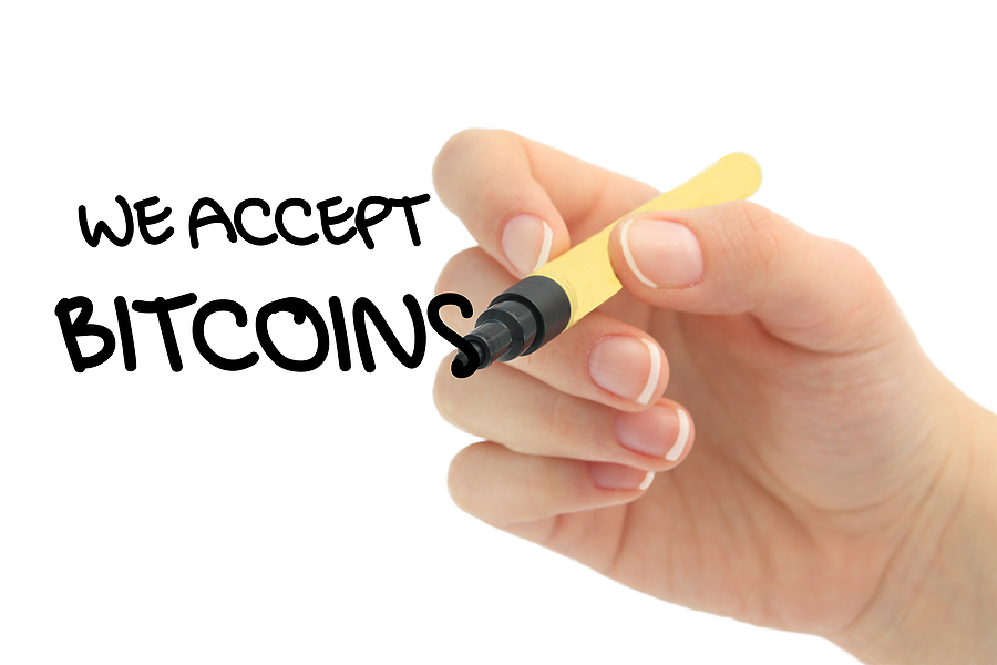 Mit Bitcoin Einkaufen